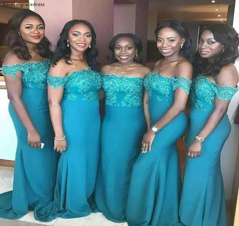 South African Bridesmaid Dresses 2019 Backless Summer Beach Country