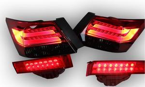 Image 2 - 2008 ~ 2012 rok tylne światło do hondy Accord taillight akcesoria samochodowe LED DRL Taillamp do światła przeciwmgielnego Accord