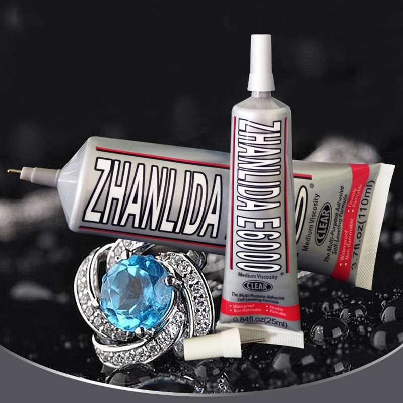 15ml E6000 Glue Super Scrapbooking Glue Adhesive For Metal Fabric Rhinestones Jewelry Crystal Glass Phone Screen Diy Craft