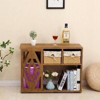 Stół konsoli meble do salonu drewniane meble domowe minimalistyczny nowoczesny Sofa szafka boczna stolik stół do kawiarni tanie i dobre opinie Meble do domu ROUND Drewna Nowoczesne Ecoz Krajem ameryki Sosna actual