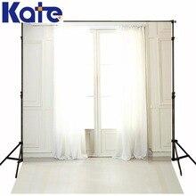 KATE 5*7ft Wedding Photography Backdrops Interior Window Curtains fund de estudio fotografia Backgrounds for photo studio Lk4304