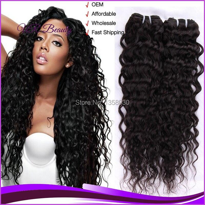 Water Wave Hair Extensions Hot Beauty Hair 3pcs Lot 100gpc Natural