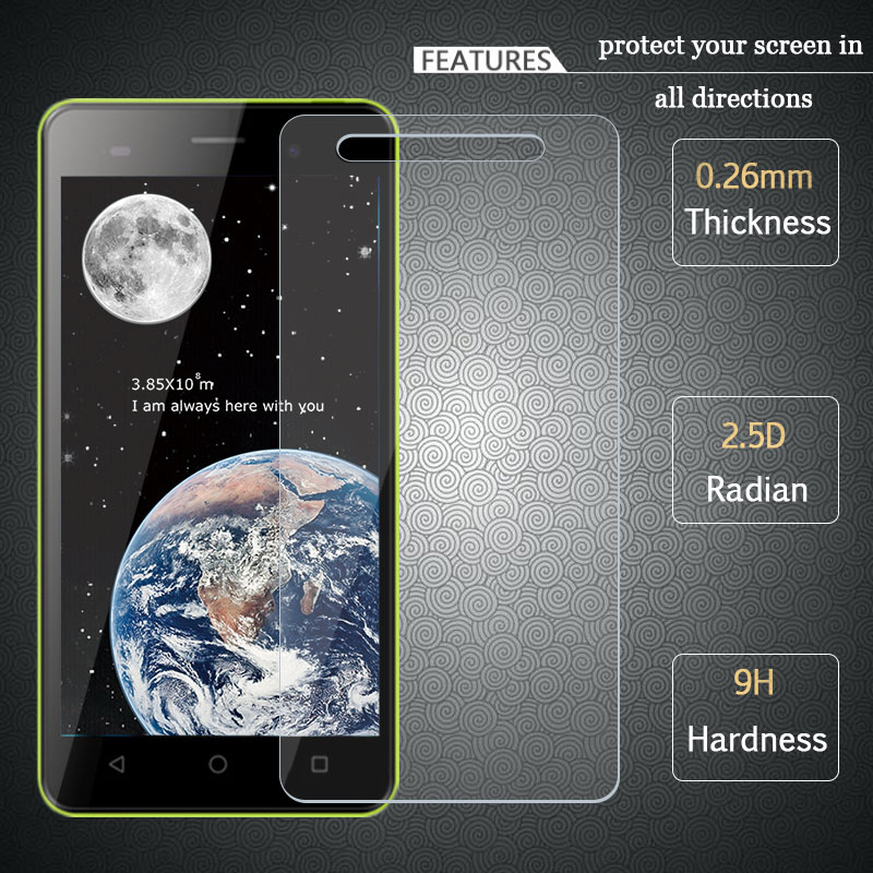 High Quality Original Tempered Glass Screen Protector For BQ BQS5020 BQS-5020 Protective Film For BQ Strike BQS 5020 2.5D 9H
