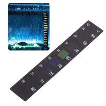 Temperature-Sticker Aquarium Stick-On Fish-Tank Digital Dual-Scale Durable High-Quality