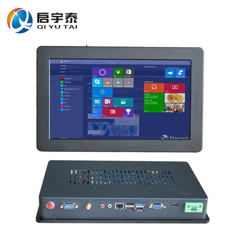 Embedded PC intel i3-3217U 1.9GHz 2GB DDR3 32GB SSD all in one pc 12 inch Resistive Touch Screen Resolution 800x600