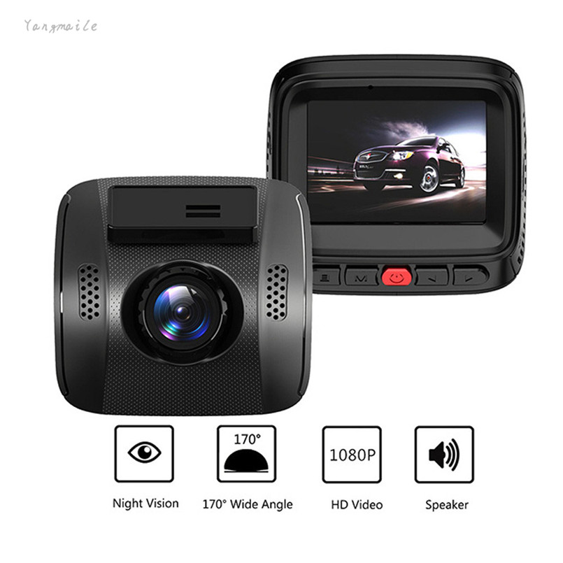 2 inch 1600W Car Camera Video Recorder HD1080P DVR Dash Cam Night Vision G-sensor WDR Yangmaile