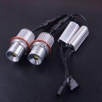 40W 12V LED Angel Eyes Marker Light Bulb Error Free Fit For BMW E39 E60 E87 E61 E63/E64 E65/E66 X3 E83 X5 E53 63126904048