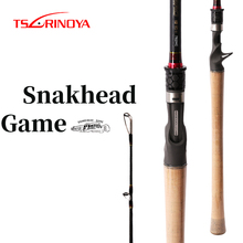Snakehead-Rod Seat Baitcasting-Rod Weight Fuji-Reel Tsurinoya Ring 8-30g-Lure Power-Fuji-Guide
