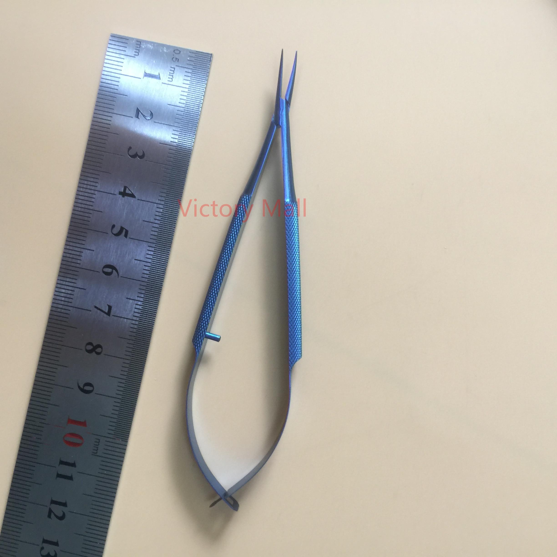 Titanium Castroviejo Needle Holder curved Dental Forceps Ophthalmic tools все цены