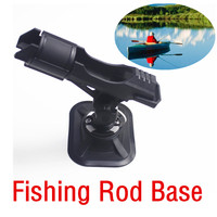 USPS Fishing Vertical Rod Holders For Boat Kayak 360 Degree Adjustable Fishing Rail Side Durable High