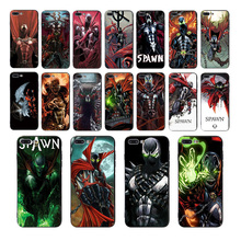 Spawn Soft silicone phone case For iPhone 6s 6 7 8 plus 5 5S SE XR XS max X TPU Coque mobile cover comic pattern fitted shell цена и фото