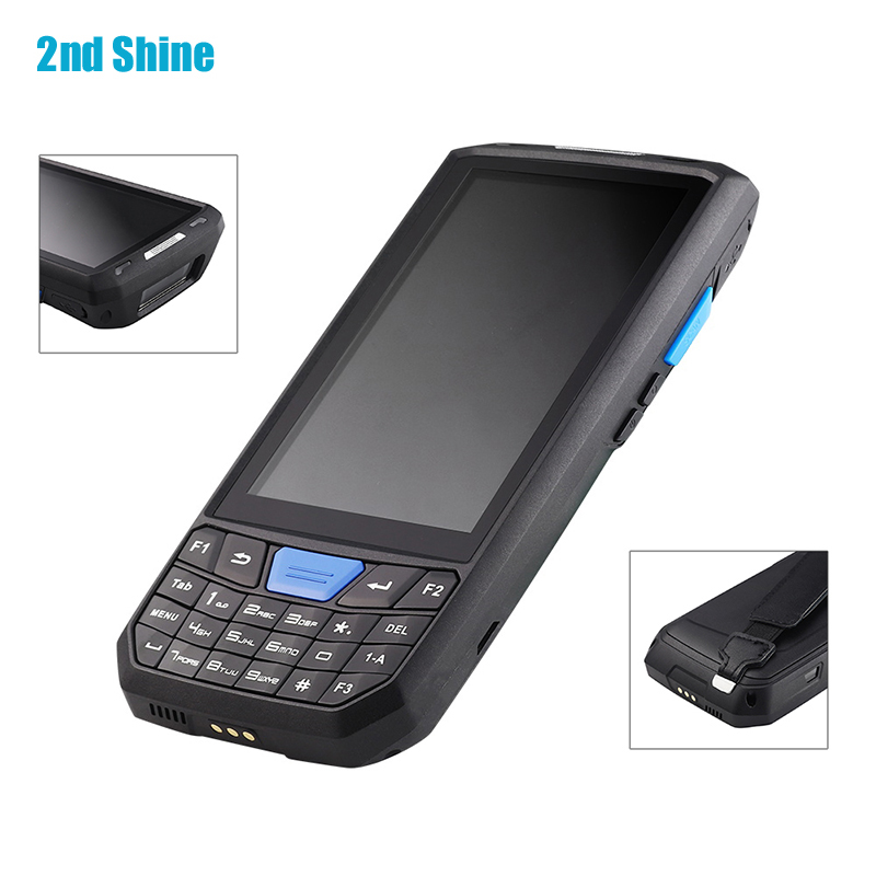 4.5 inch Touch Screen Android 1D 2D QR Laser Bar Code Scanner NFC Card Reader Mobile Reader Rugged Tablet PDAs