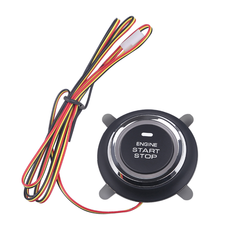 Button Start Stop 12V Car Engine Circuit Board Ignition Starter Engine Starter Switch  Start Stop Engine Button