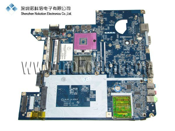 Laptop Motherboard for ACER 4730Z Series LA-4201P Mother Board INTEL GL40 MB.AT902.002 MBAT902002 Mainboard X4500 DDR2  недорого