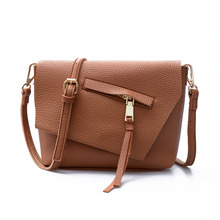 Vintage Women Bag Small Clutch Purse Crossbody Bags PU Leather Shoulder Bag Brand Women Messenger Bags
