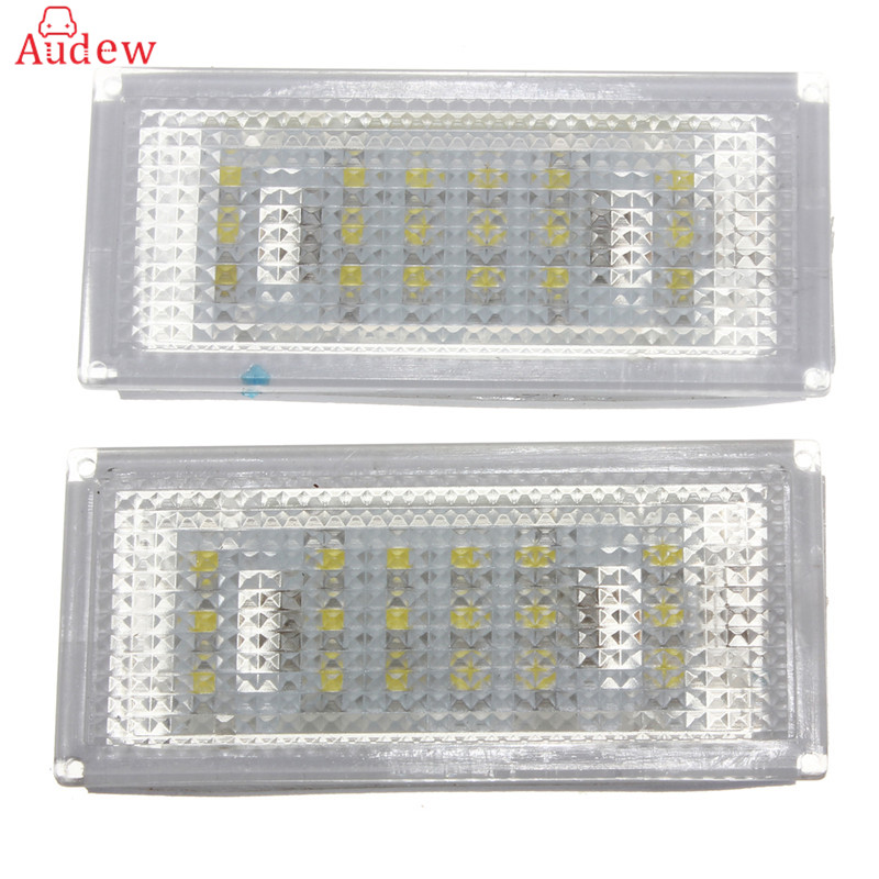 1 Pair 18 LED License Plate Light for BMW 3 Series /E46 2d Coupe 1998 - 2003 /M3 /Pre-Facelift bmw m3 e30 coupe