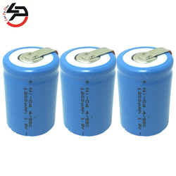 Ni-CD 4/5SC 1200mAh 1.2V 4/5 SC Sub C Rechargeable Battery Cell for Power Bank Toy Car 3 Pack