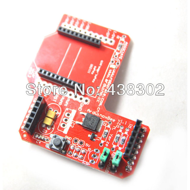 5pcs/lot XBee Zigbee Shield RF Module Wireless Expansion Board Free Shipping Dropshipping