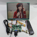 HDMI VGA AV Audio USB FPV Controller board 12.1inch  LTD121ECNN 1024 768 Touch panel