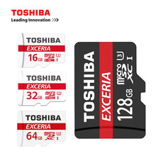 TOSHIBA Micro SD Card 16GB/32GB/64GB/128GB Memory TF Trans Flash Card Mini SD Card Class10 U3 Microsd Card for Smartphone/Tablet