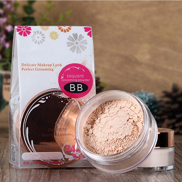 High Quality BB Waterproof Loose Powder Long Lasting Oil Control Matte Cosmetics Powder Photosensitive Smooth Makup Product