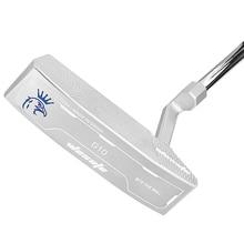 Putter clubes de golfe dos homens direito prata cnc moído com headcover golfe frete grátis