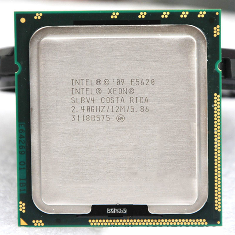 INTEL Xeon  E5620 SLBV4 CPU 2.4G/12M/5.86 4 Core 8 Thread Warranty 1 Year