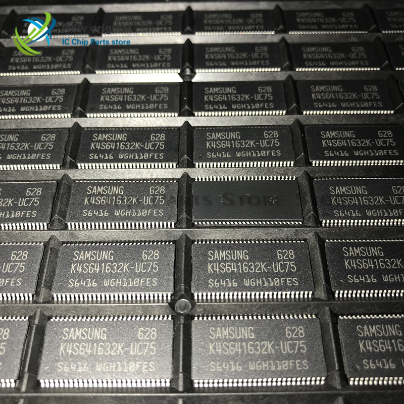 10/PCS K4S641632K-UC75 K4S641632K TSOP54 New Original Transistor