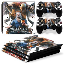 Witcher PS4 Pro Skin Sticker Cover