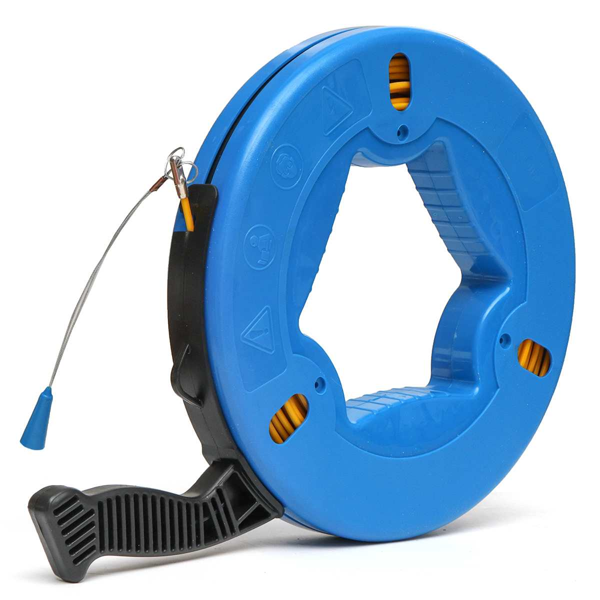 45m/60m/70m 4mm Cable Puller Fish Tape Blue Cable Fiberglass Fish Tape Reel Puller Nylon Metal Wall Wire Conduit ABS Plastic45m/60m/70m 4mm Cable Puller Fish Tape Blue Cable Fiberglass Fish Tape Reel Puller Nylon Metal Wall Wire Conduit ABS Plastic