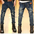 Free shipping in the autumn  the new baby boy, children's wear jeans boy fashion jeans, boy han edition jeans, kids ripped jeans