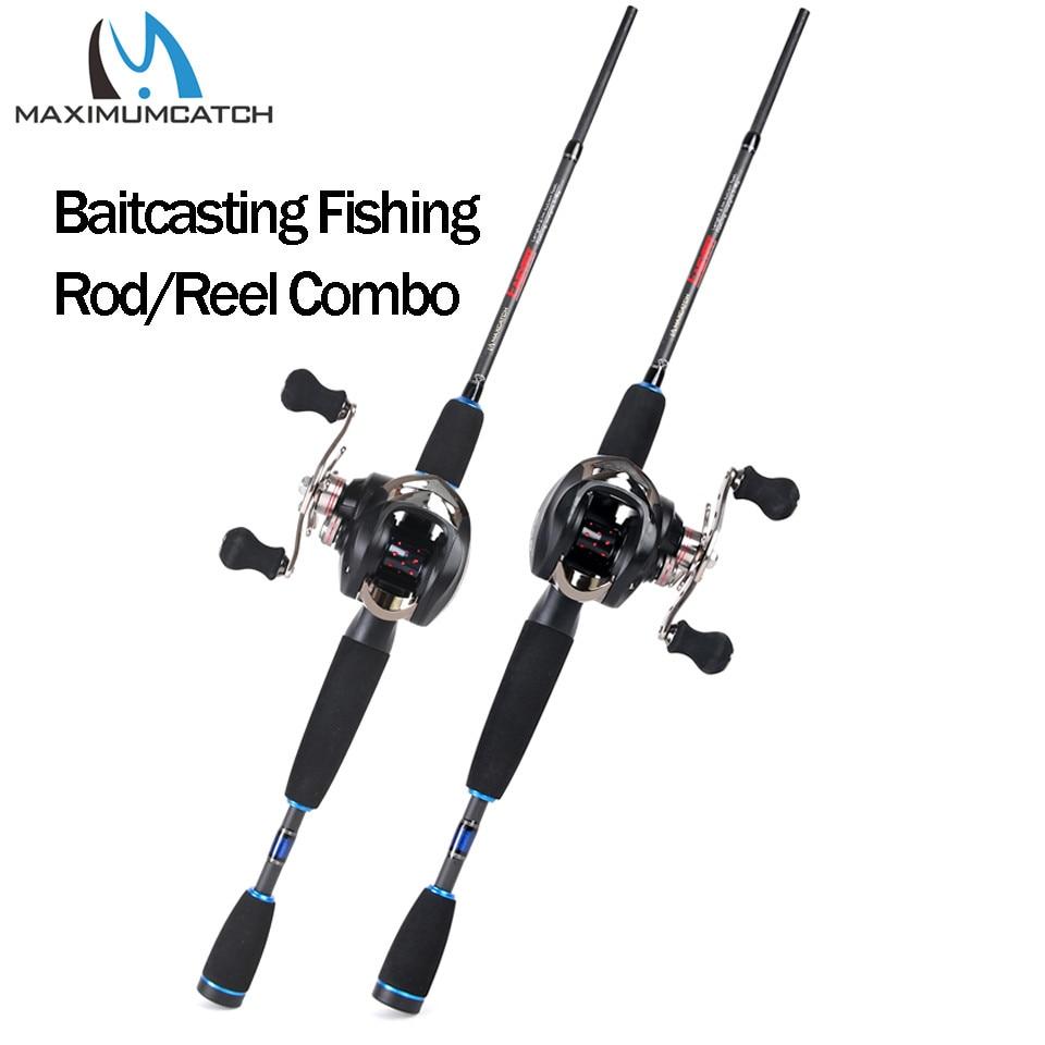 Maximumcatch 2 1M 2 4M Lure Weight 3 80g Portable Travel Bait Casting Rod Left Right