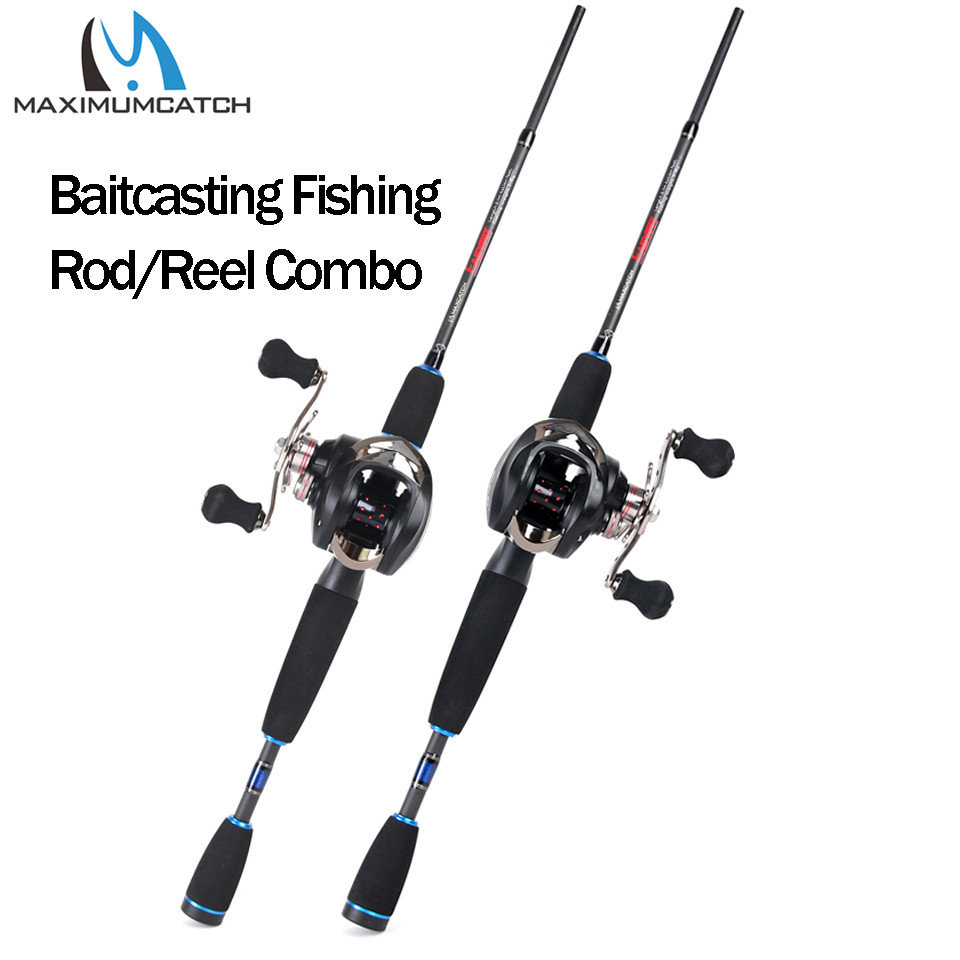 Maximumcatch 2.1M-2.4M Lure Weight 3-80g Portable Travel Bait Casting Rod Left & Right Handed Casting Fishing Rod Reel ComboMaximumcatch 2.1M-2.4M Lure Weight 3-80g Portable Travel Bait Casting Rod Left & Right Handed Casting Fishing Rod Reel Combo
