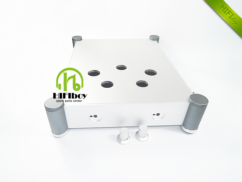 HIFI 300B tube amp case Aluminum Chassis for 300B tube amplifier Aluminum enclosure 300B chassis (W342mm H84mm D430mm )