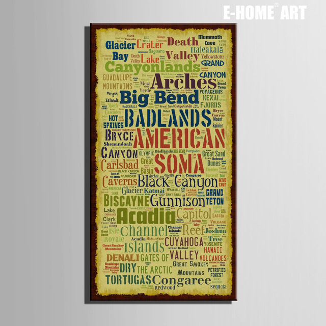 HD Letter Canvas Art Print Painting Poster, Print Wall Pictures For ...