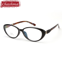 Chashma Brand Cat Eye Glasses Frame Female Black Eyewear TR90 Fashion Stylish Optical Womens Eyeglasses