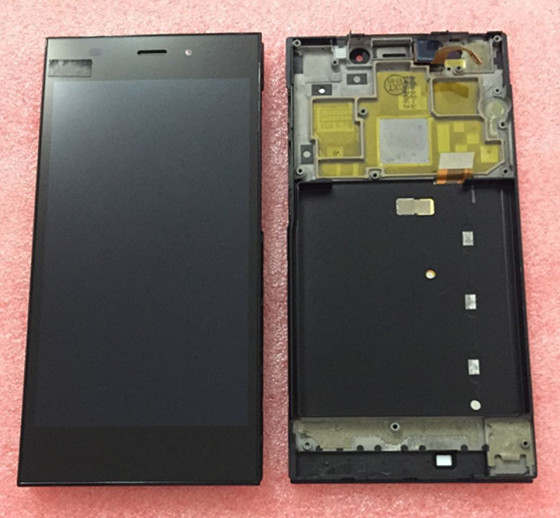 100% geniune tested LCD screen display +Touch digitizer with frame For Xiaomi m3 mi3 WCDMA &TDS-CDMA Free shipping