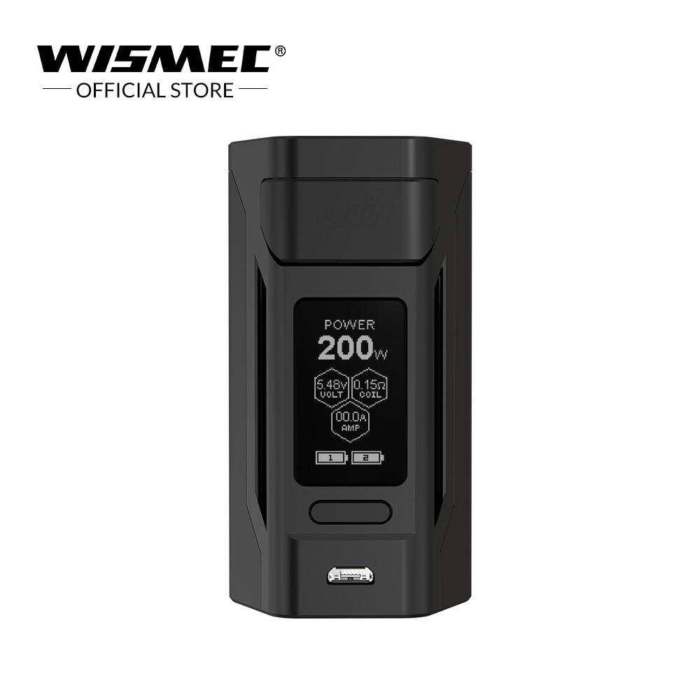 [USA Entrepôt] D'origine Wismec Reuleaux RX2 20700 Mod 1.3 pouces affichage RX Mod Boîte 200 w cigarette Électronique vaporisateur mod boîte