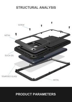 Para Samsung Galaxy A9 2018 amor MEI Shock la suciedad prueba resistente al agua armadura de Metal cubierta del teléfono para Samsung galaxy A9s