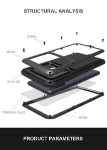 Image 1 - Per Samsung Galaxy A9 2018 custodia LOVE MEI antiurto resistente allacqua custodia protettiva in metallo per Samsung Galaxy A9s