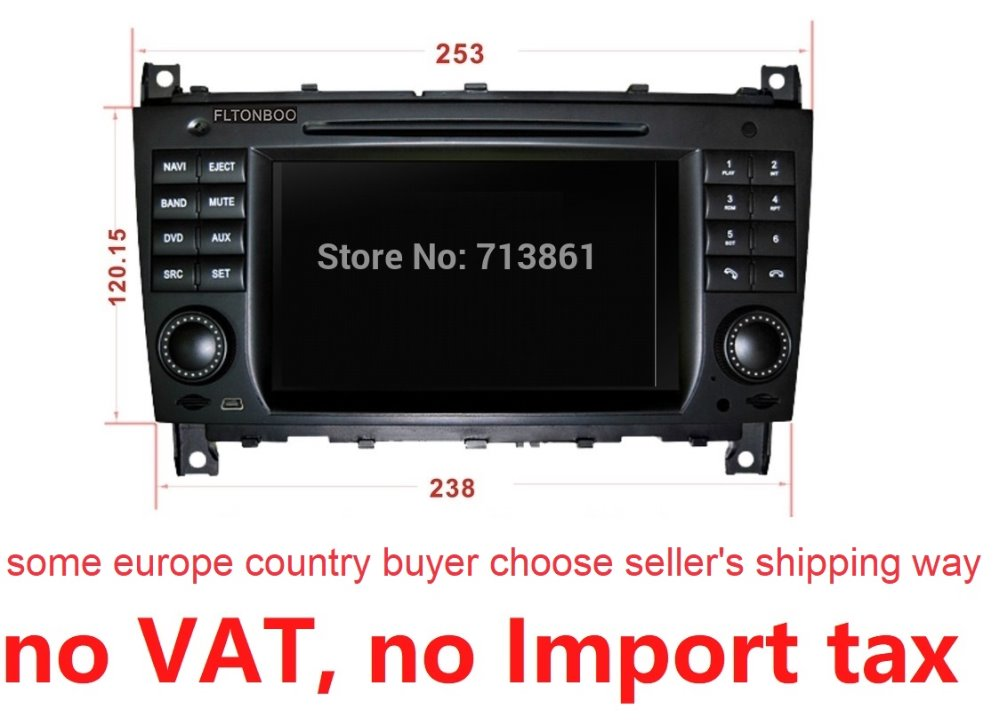 Android 7 1 for mercedes w209 cls w219 2006 2008 2din car dvd gps 3G Wifi