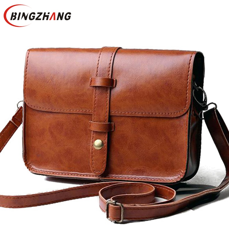 New 2017 Flap Bag fashion women messenger bags Tote Shoulder Bag Cross Body Purse Sac a Main Casual Simple Style L4-2507 weiju new canvas women handbag large capacity casual tote bag women men shoulder bag messenger crossbody bags sac a main