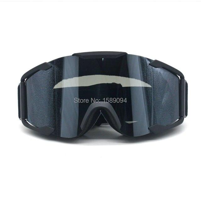 Evomosa Adulte Motocross Moto ATV Off-road Lunettes de soleil de lunettes de snowboard/ski casque de vélos anti UV (Coloré objectif: Multicolore) 810mtv