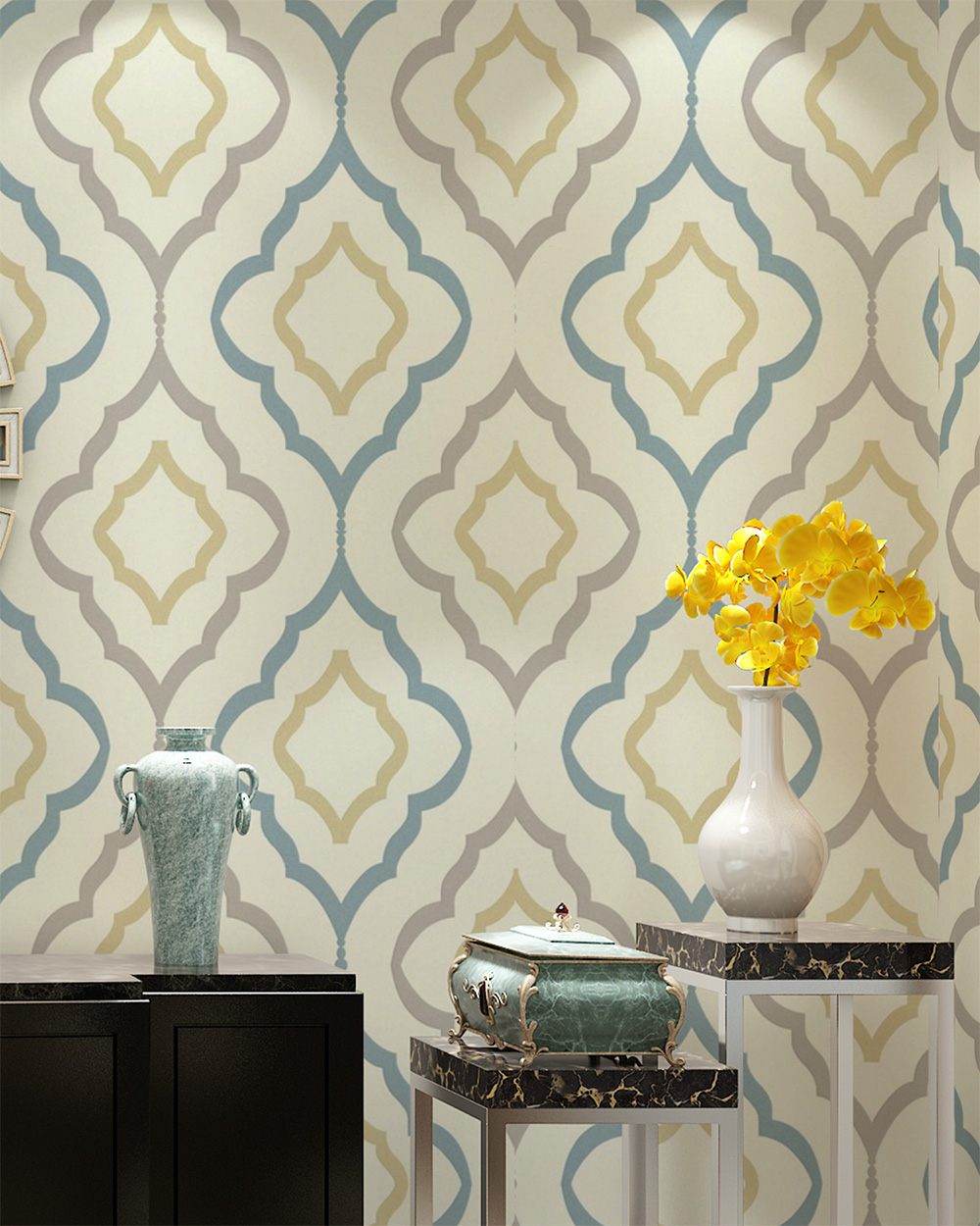 vintage wallpaper for home - photo #21
