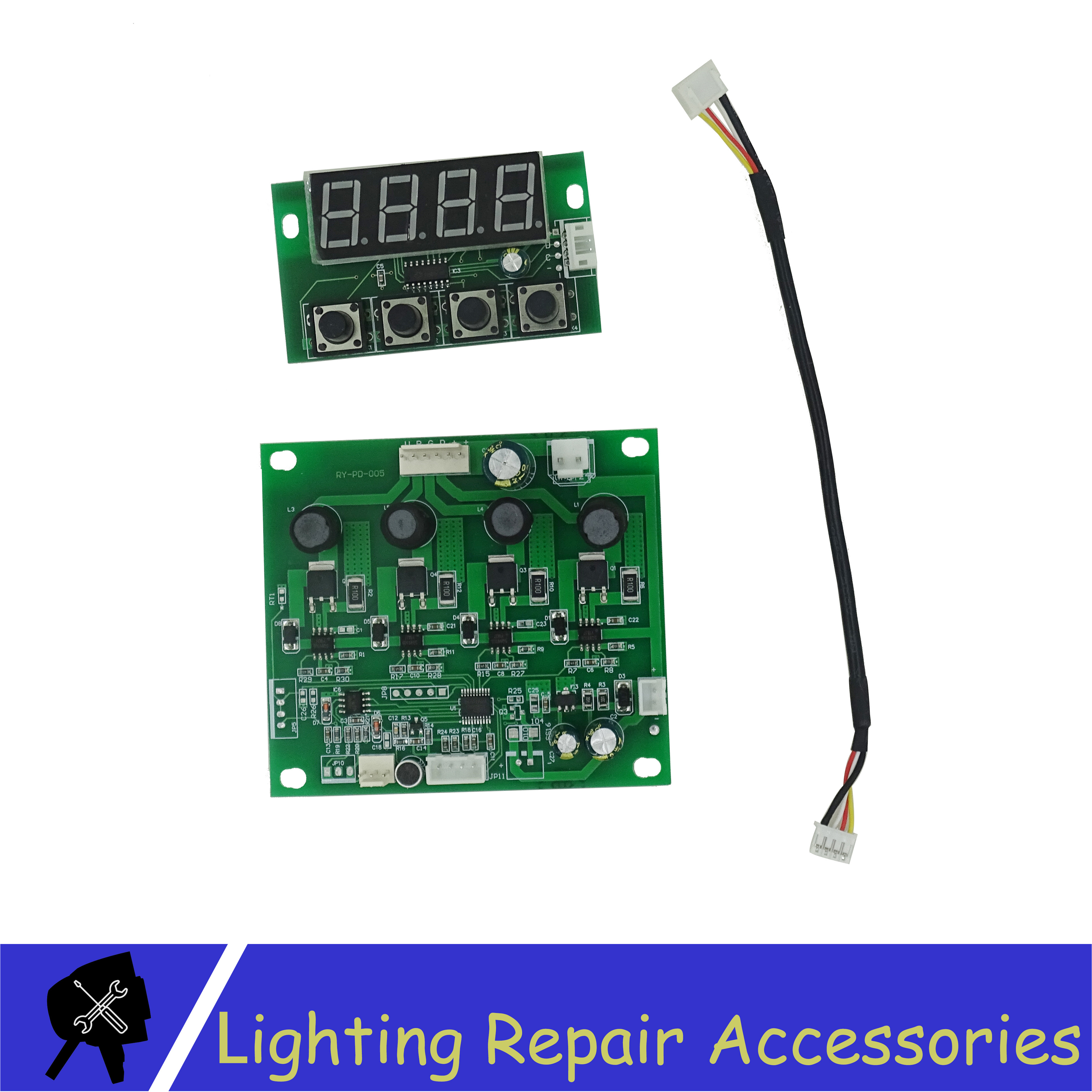 Led Par Light Motherboard Use For RGBW A UV 3 4 5 6in1  Led Stage Light Waterproof IP65 And IP33 Repair Spare Parts