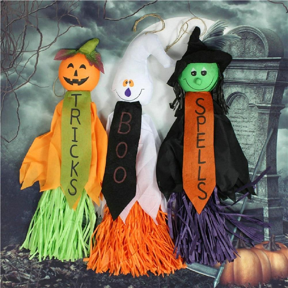 1pcs Halloween Props Paper Durable Funny Pumpkin Doll