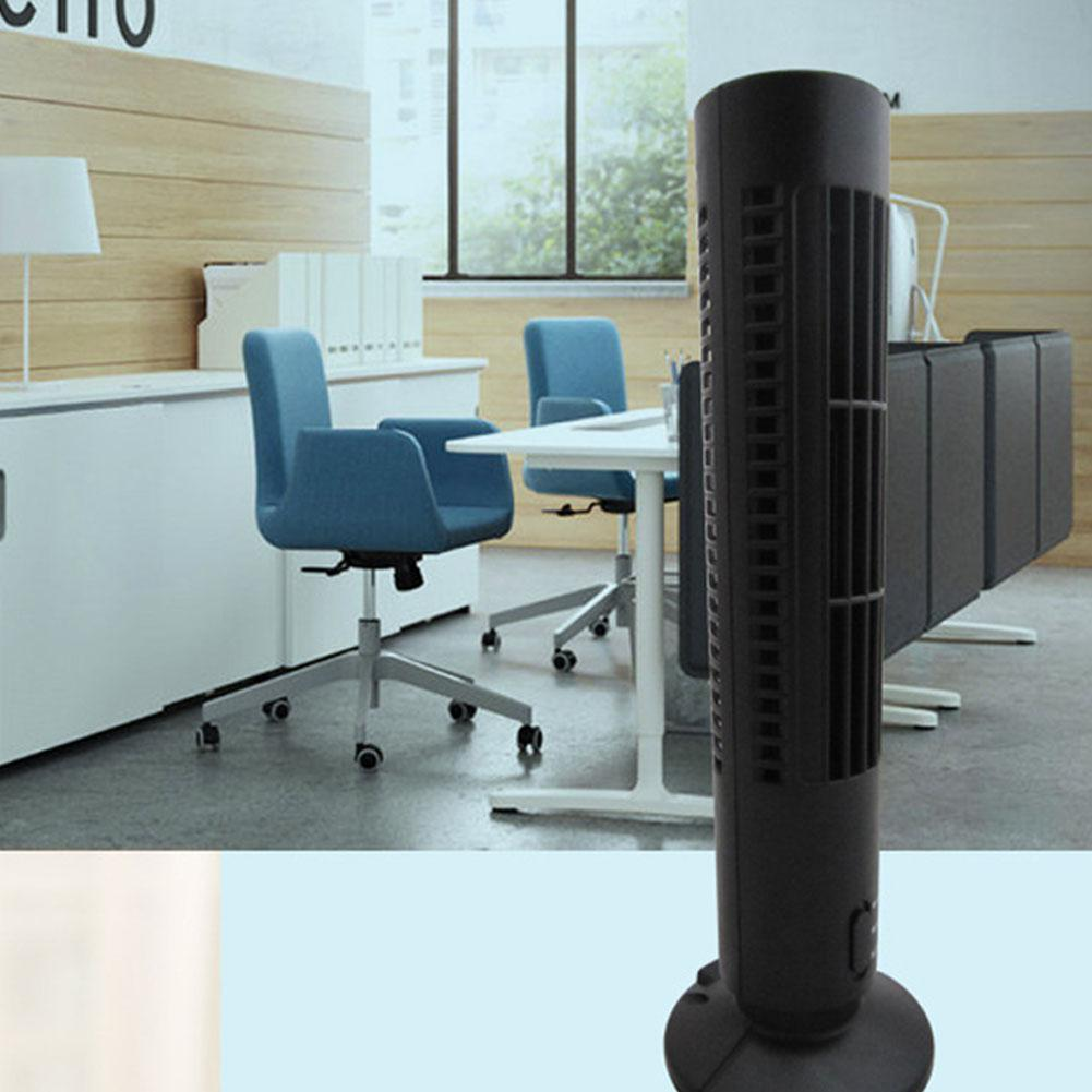 Small Air Conditioning Appliances New Fashion Portable Usb Mini Bladeless Fan No Leaf Air Conditioner Cooling Cooler Desk Tower Fan For Home School Office Use