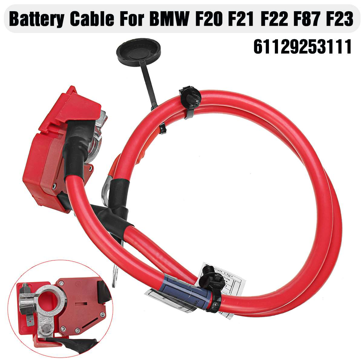 Car Accessories Positive Battery Fuse Cable 61129253111 For BMW 1 2 series F20 F21 LCI F22