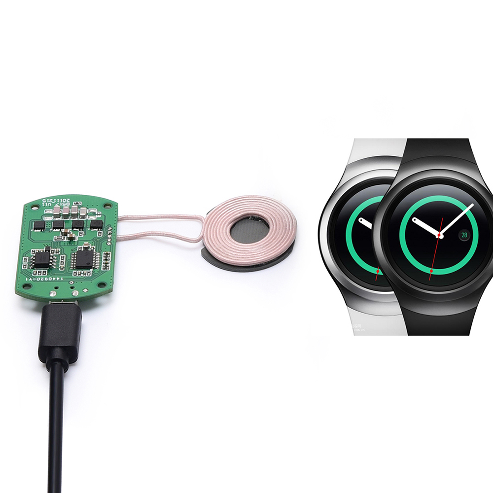 Wireless Charger,Itian Wireless Charging Solution DIY PCBA for Samsung Gear S2 Gear S3