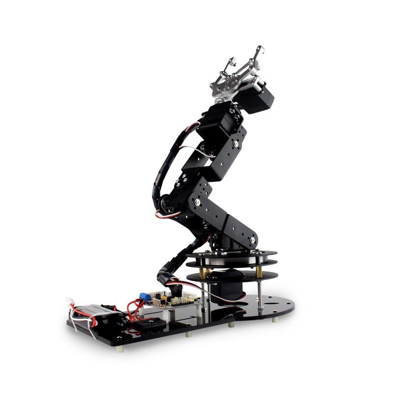 6 DOF Alloy Robot Arm (5)
